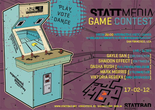 The Shaidon Effect @ STATTMEDIA Game Contest, Berlin